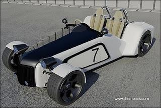 Lotus New 7 Concept