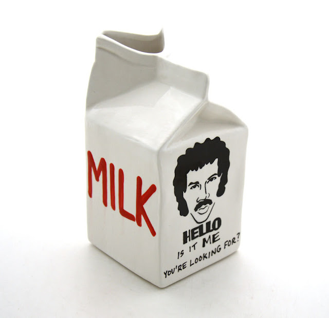 LennyMud's Lionel Richie Is It Me You're Looking For? milk server