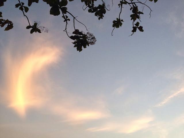 Borobudur Sunrise Sky