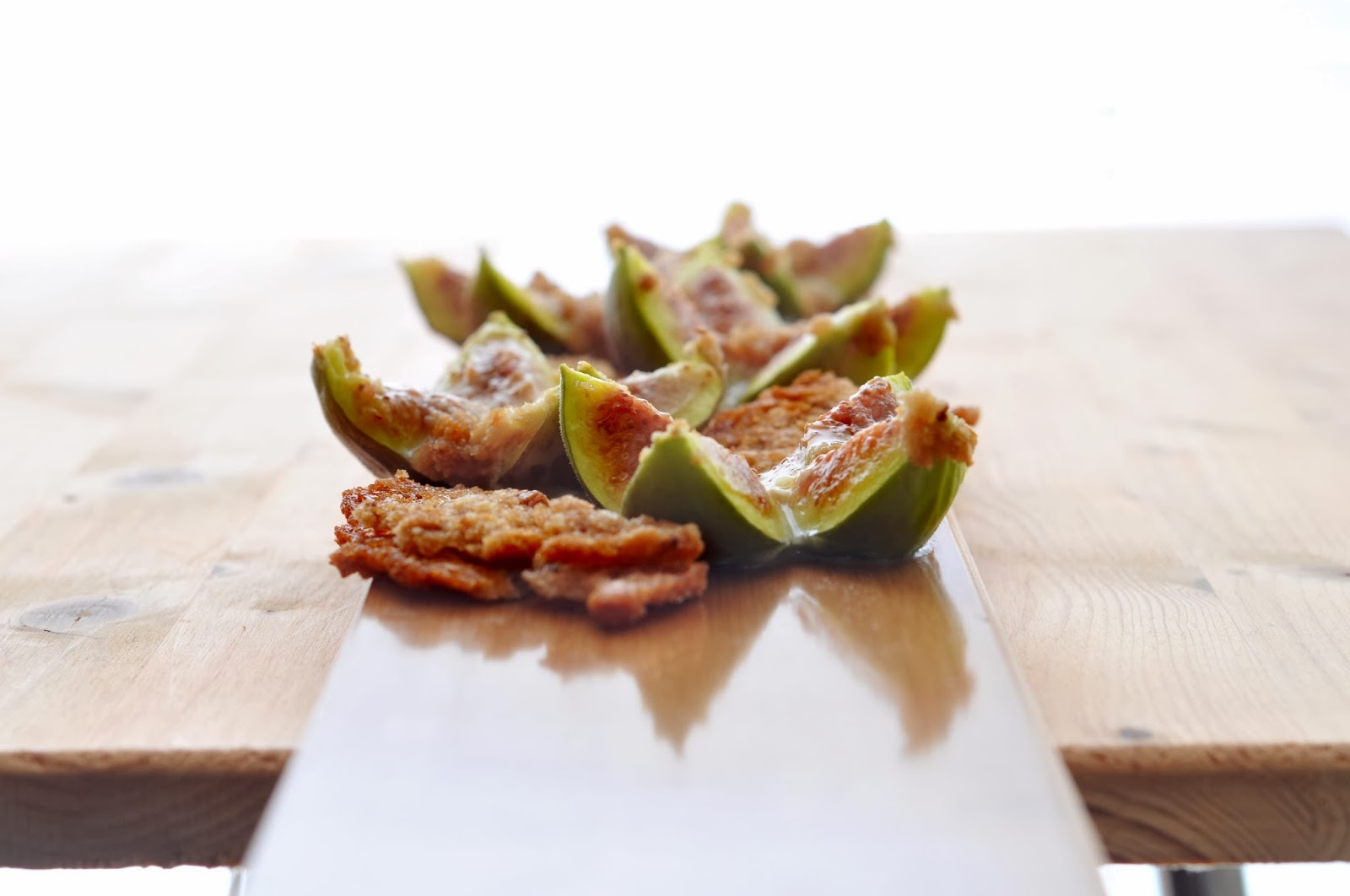 Baked Camembert Figs