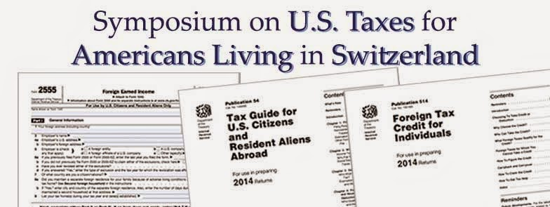 Symposium on U.S. Taxes for Americans Living in Switzerland