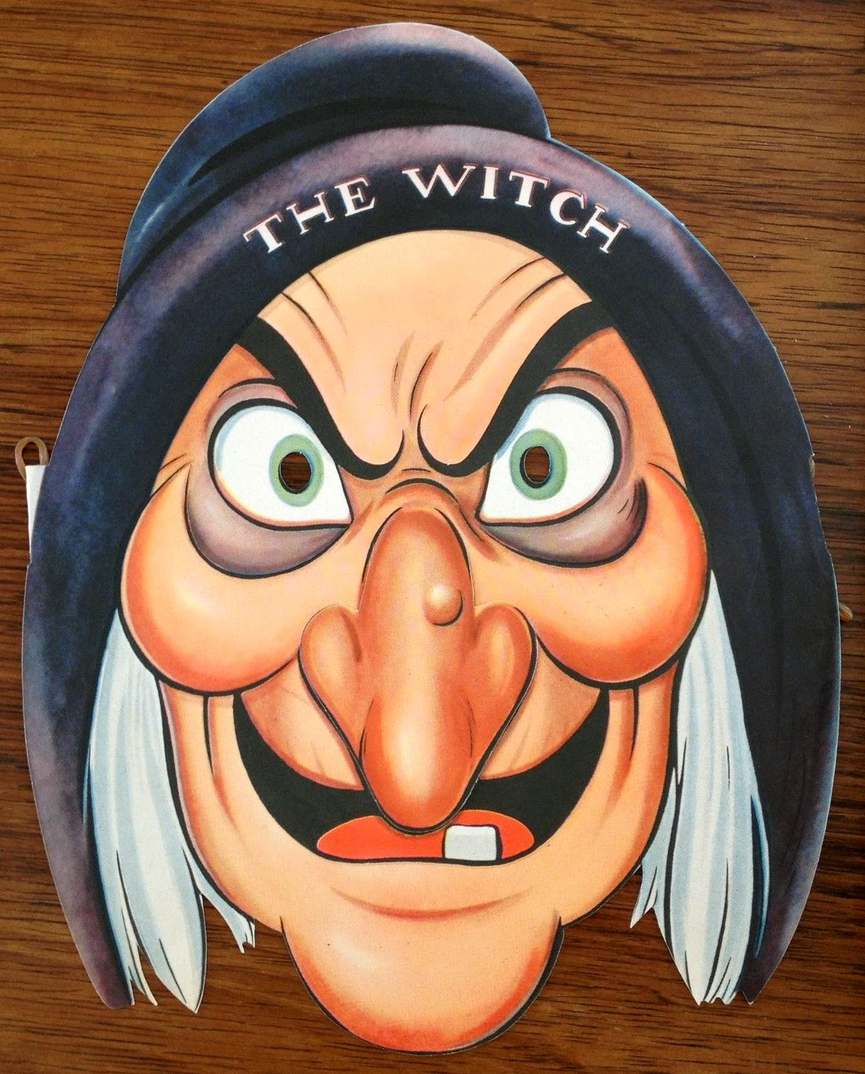 Displaying 19 Images For Vintage Halloween Witch Mask | Interior Room