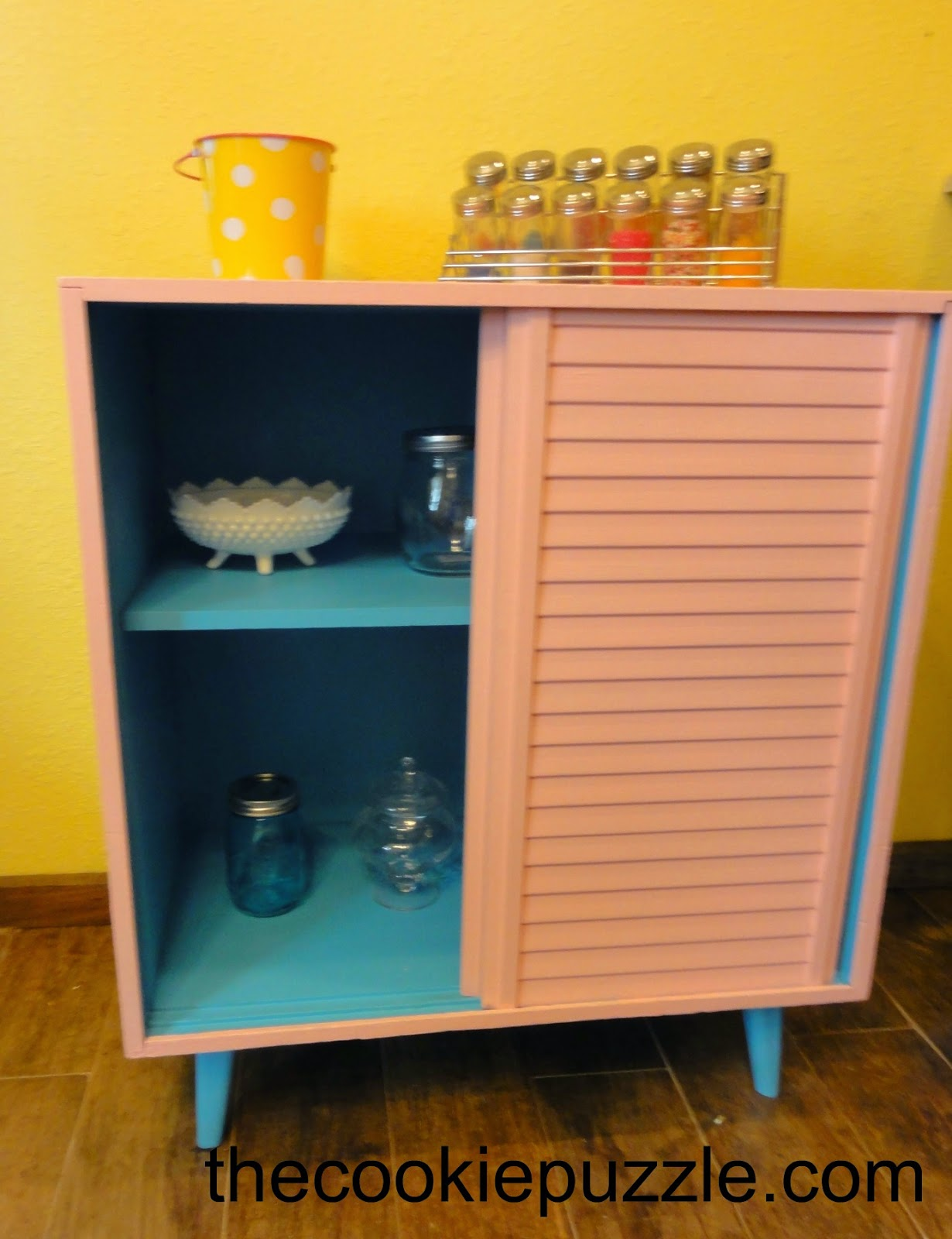 Chalk Pant Cabinet Make-Over