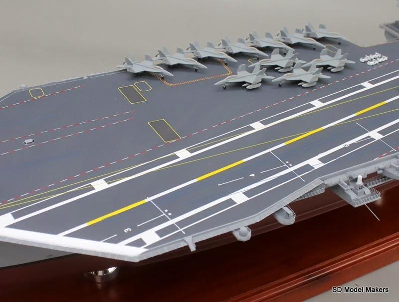 47 uss gerald r ford aircraft carrier model the navy s. Cars Review. Best American Auto & Cars Review