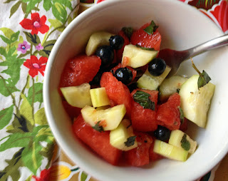 watermelon salad - ponyboypress blog