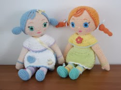 Amigurumi Human Doll Free Pattern : Crochet dolls patterns that will be a wonderful gift for your daughter