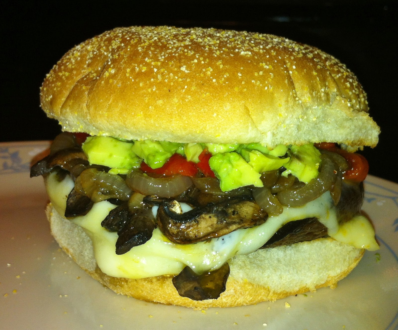 Double Mushroom, Double Cheese, Eat right up, It's Sure to Please!
