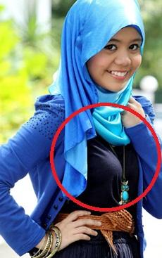 Najwa Latif Pakai Baju Yang Menampakkan Bentuk Teteknya..