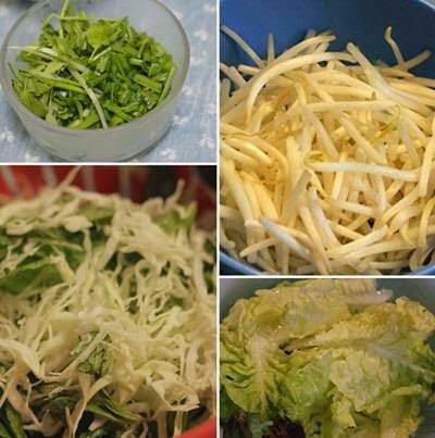 Vietnamese Noodle Recipes - Hủ Tiếu Trộn