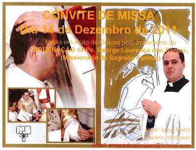 CONVITE DE MISSA