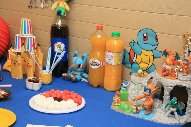 fête anniversaire pokemon