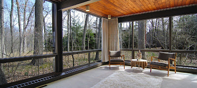 """The House From """"Ferris Bueller's Day Off"""" is on sale. It designed by A. James Speyer, protege of Mies Van der Rohe & David Haid."""