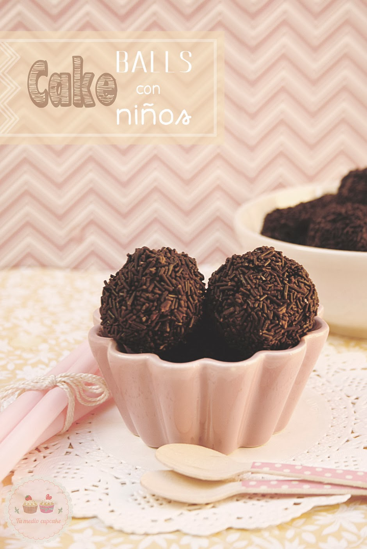 cake balls caseras