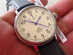ORIENT MONARCH CLASSIC WHITE DIAL - MANUAL WINDING POWER RESERVE