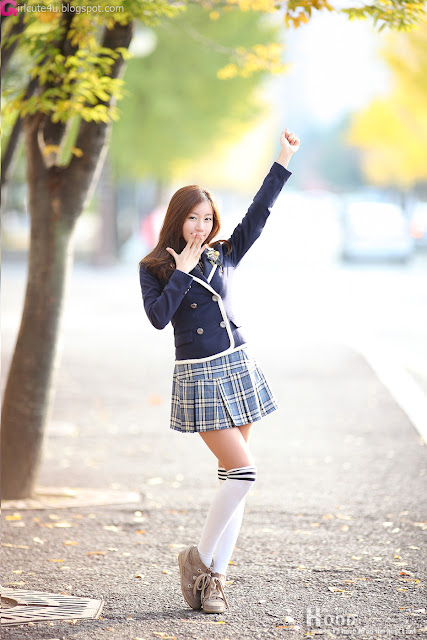 5 Han Ji Eun - School Girl-very cute asian girl-girlcute4u.blogspot.com