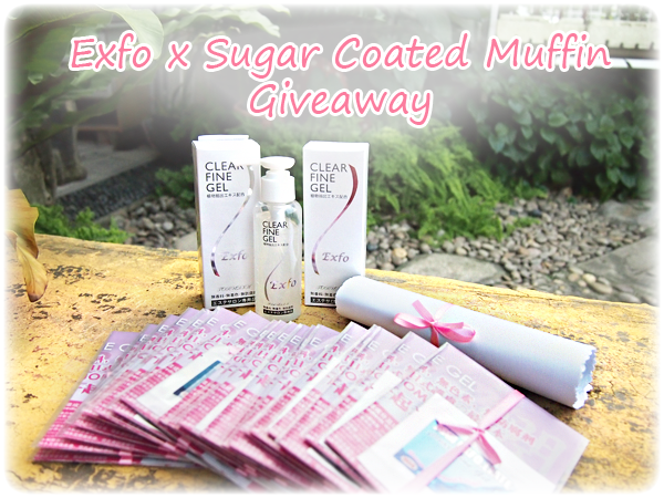 Exfo Clear Fine Gel Giveaway
