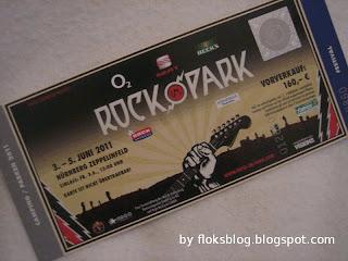 Rock im Park Tickets 2011