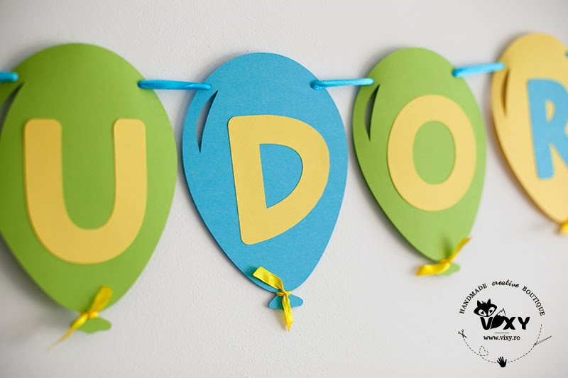 ghirlanda personalizata baloane, baloane colorate, ghirlanda petrecere, baloane din hartie