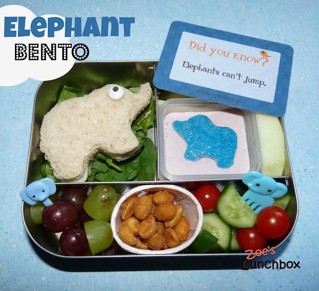 Elephant Lunchbots Bento