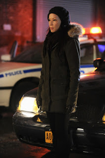 Lucy Liu as Joan Watson in Elementary Episode # 12 M