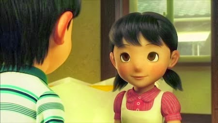 Gambar Shizuka Doraemon 3D Pacar Nobita