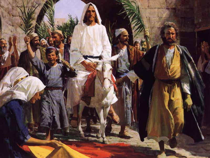 Palm Sunday: Jesus Enters Jerusalem Even Now