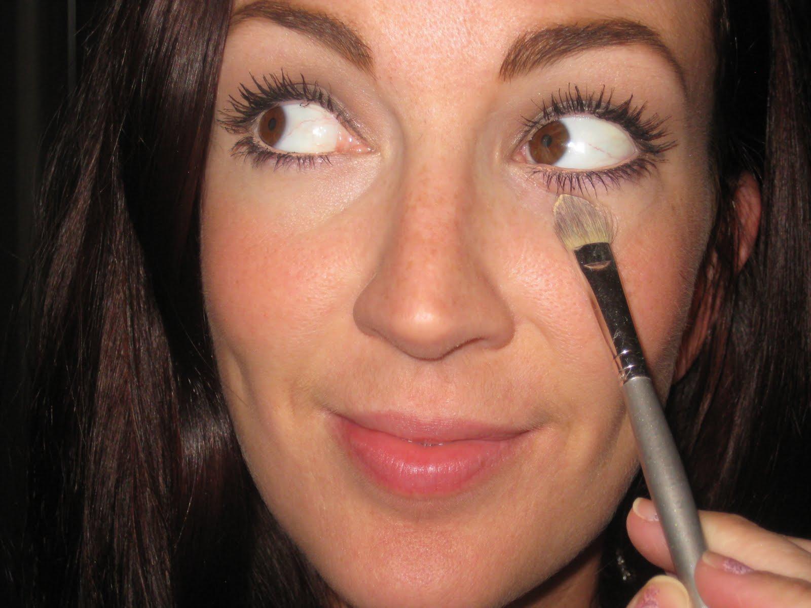 My Little Black Dress Of Makeup - JennySue Makeup Raccoon Eyes Makeup