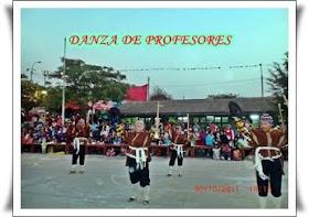 DANZA DE PROFESORES 2011