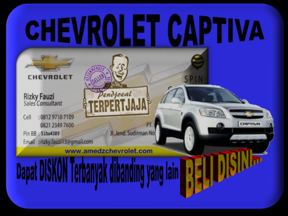Promo Akhir Tahun Chevrolet Captiva 0877 8015 0460