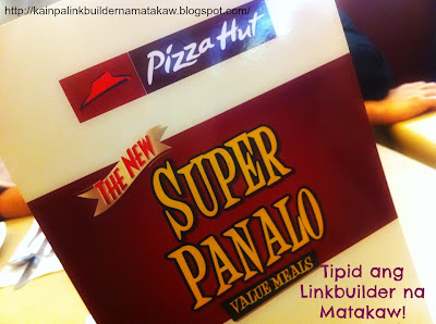 Pizza Hut Super Panalo Value Meals
