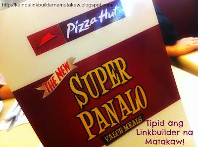 Pizza Hut Super Panalo Value Meals