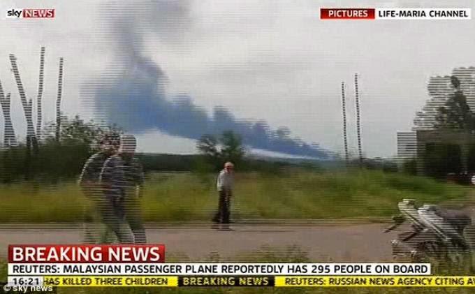 Berita Jatuhnya Pesawat Malaysia