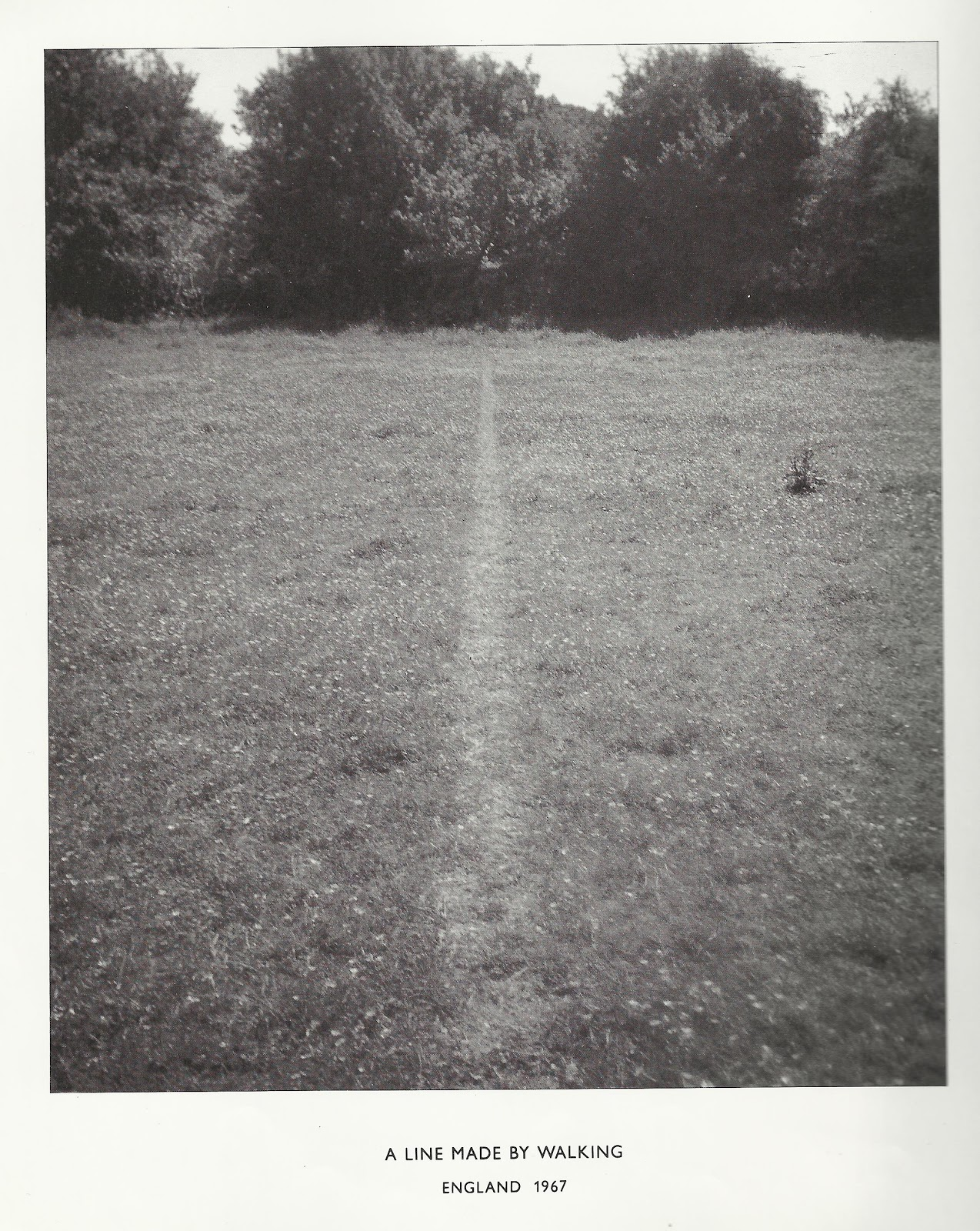 ciaran jones photography the art of walking richard long and hamish fulton works along the same lines in fact the essay written inside the catalogue an object cannot compete an experience a 14 day walking