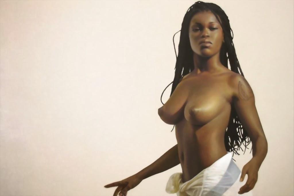 Cuadros De Lindas Negras Africanas Pintura Al Leo