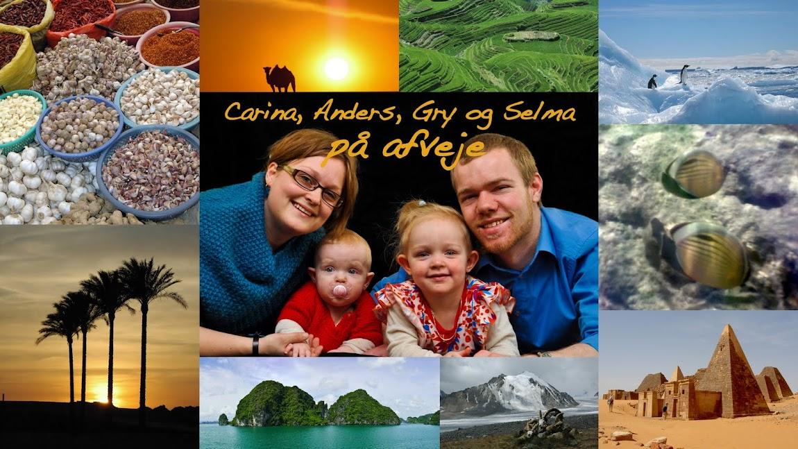 Carina, Anders, Gry og Selma på afveje