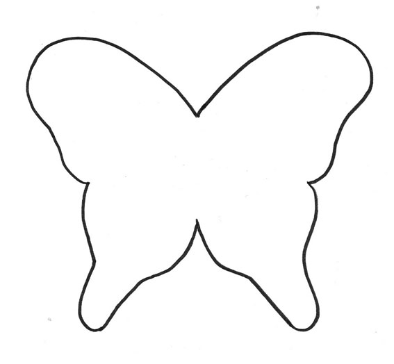 Moldes de mariposas para recortar imagui - Plantillas de mariposas para pintar ...