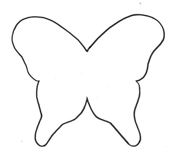 Moldes de mariposa y flores - Imagui