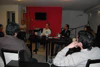 Cafe Cultura en Laprida con Gustavo Veiga