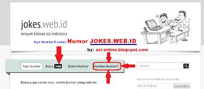 Ayo Ikutan Kontes Humor JOKES.WEB.ID