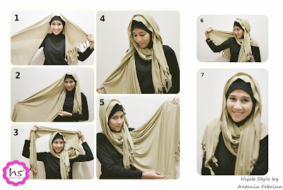 Step+A+Finish Gambar Trend Model Hijab Terbaru 2013