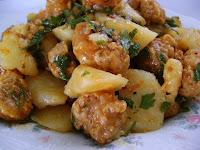 Carne de Soja de Panela com Batata (vegana)