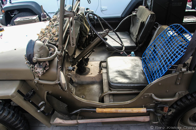 Interior: Willys Jeep