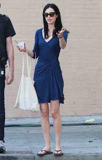"Krysten Ritter Pictures on the set of a ""Veronica Mars"" movie in LA  0004.JPG"