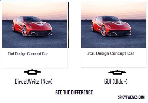 Solve Google Chrome Showing Blurred Font