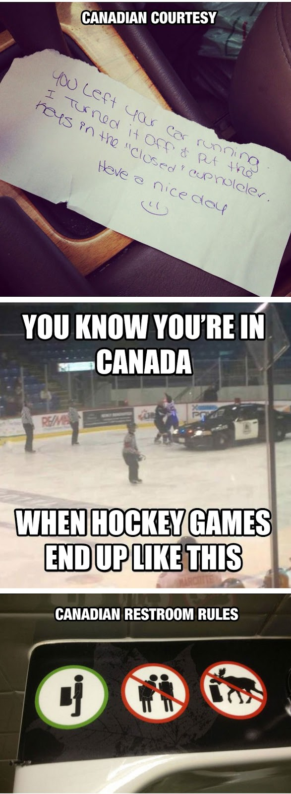 We do things differently in Canada, eh?