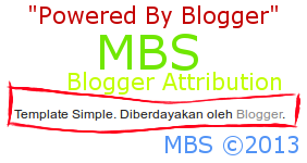 Blogger Attribution