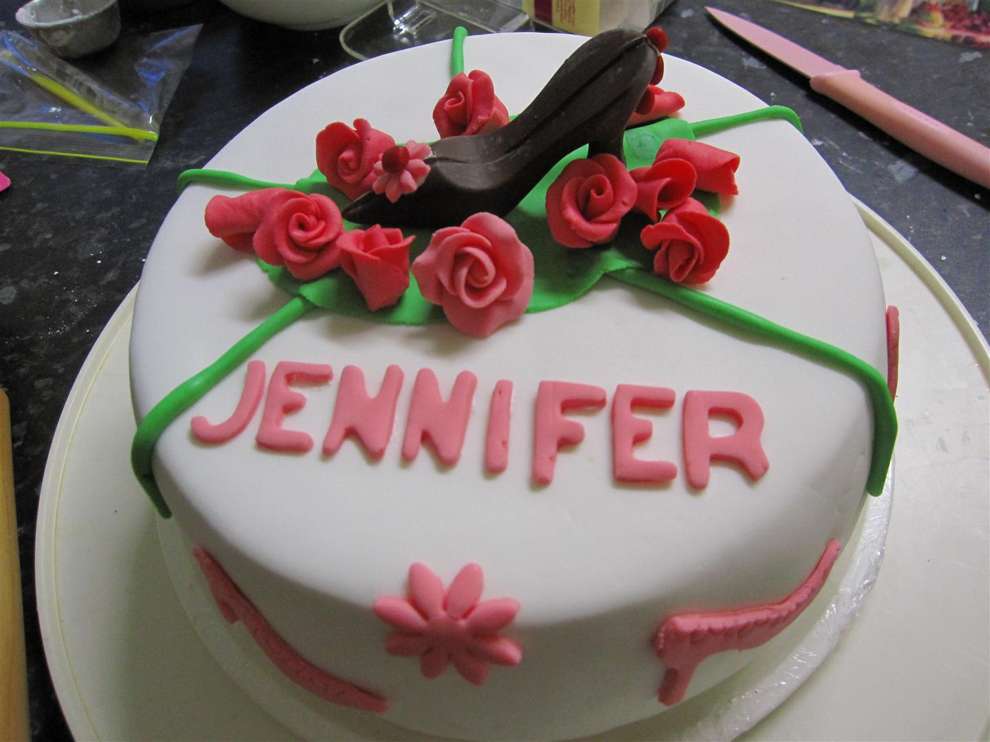 happy birthday jennifer cakes