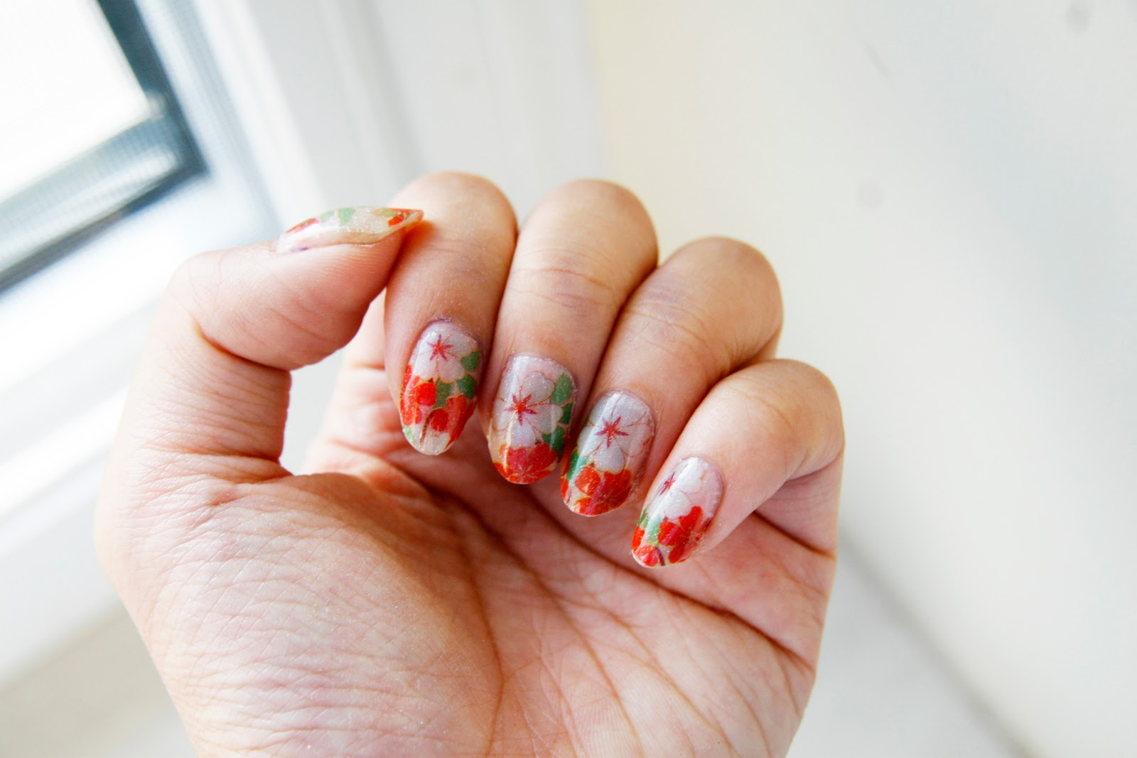 fun size beauty: Born Pretty Store Romantic Flower Patterned Nail ...