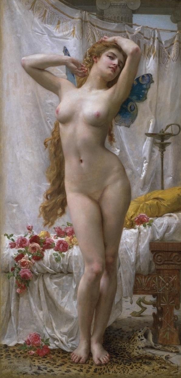 Psyche,Guillaume Seignac,goddess