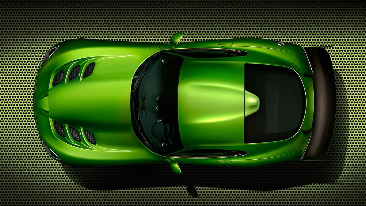 Stryker Green  2014 SRT Viper top